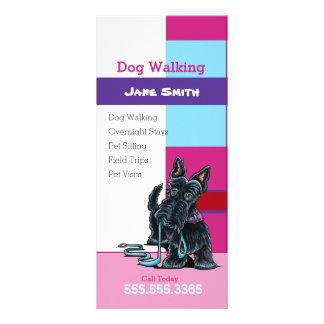 Marketing de negócio do animal de estimação da 10.16 x 22.86cm panfleto