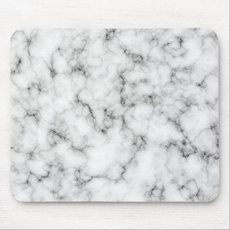 Mármore branco mouse pad