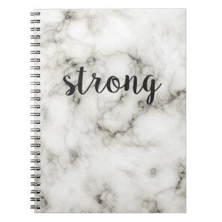 Mármore forte caderno