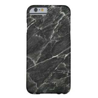 Mármore preto capa barely there para iPhone 6