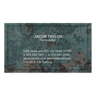 Marmoreado Cartão De Visita