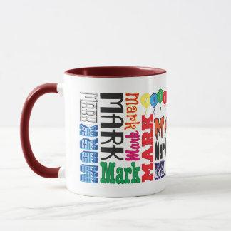 Marque a caneca de café