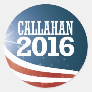 Marque Callahan 2016 Adesivo