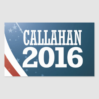 Marque Callahan 2016 Adesivo Retangular