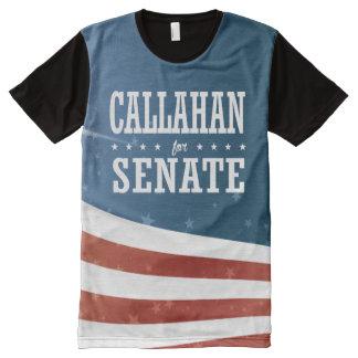 Marque Callahan 2016 Camiseta Com Impressão Frontal Completa