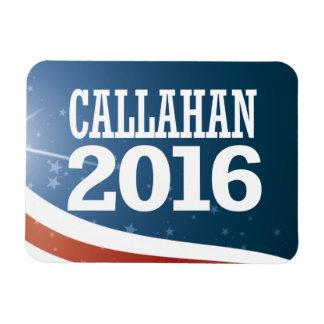 Marque Callahan 2016 Foto Com Ímã Retangular
