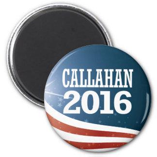 Marque Callahan 2016 Ímã Redondo 5.08cm