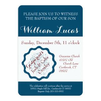 Marque o convite do baptismo