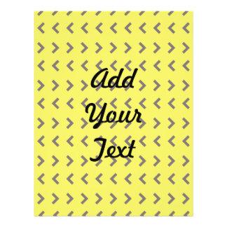 Marrom amarelo do teste padrão da seta