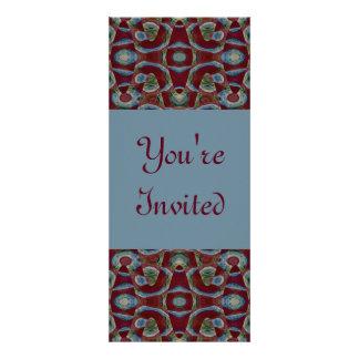 marrom azul convites personalizados