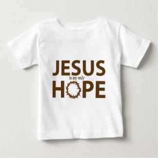 marrom da esperança de jesus tshirt