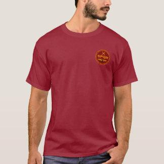 Marrom romano da legião de SPQR & camisa do selo