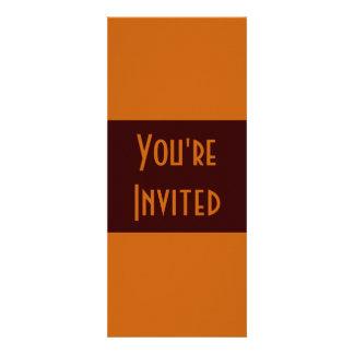 marrom simples convites