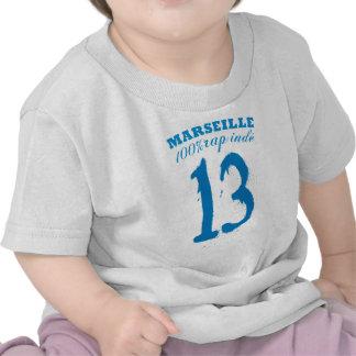 Marselha rap Índia Camisetas