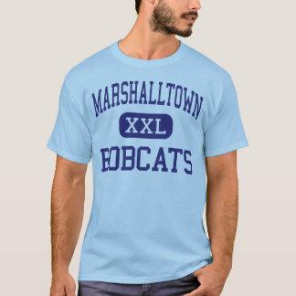 Marshalltown - linces - alto - Marshalltown Iowa Camiseta