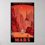 Marte: grande versão poster