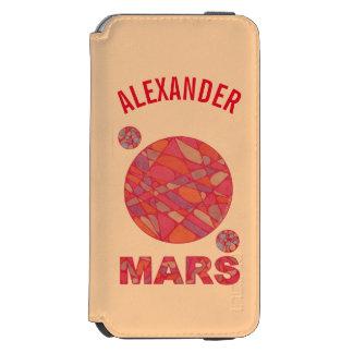 Marte o divertimento vermelho do sistema solar do