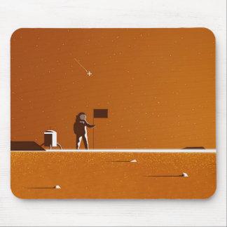 Marte que aterra Mousepad