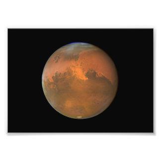 Marte telescópio de Hubble Impressão Fotográfica