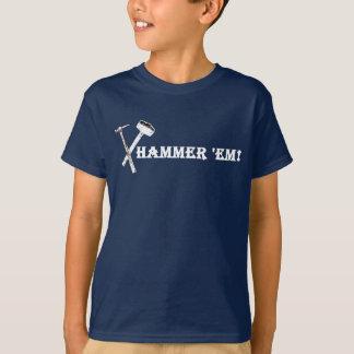 Martele-os! T-shirt Funky Camiseta
