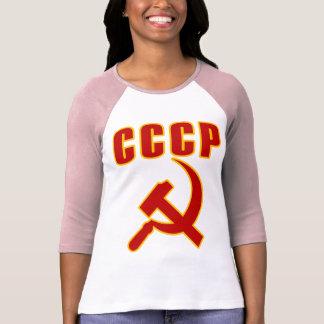 martelo e foice de URSS do cccp Tshirts