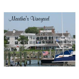 Martha's Vineyard Cape Cod, cartão das MÃES de