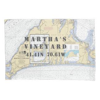 Martha's Vineyard da longitude da latitude náutico