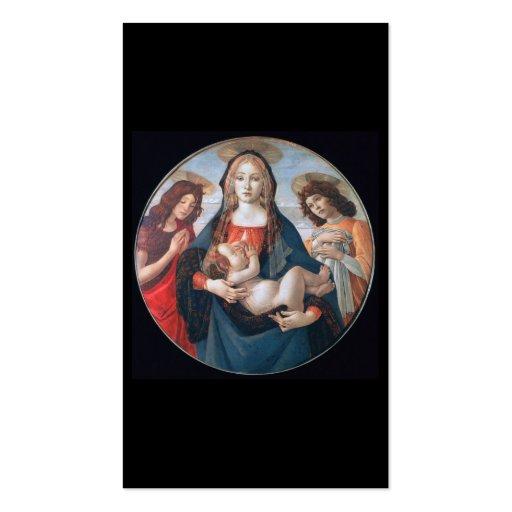 Mary, cartão de assunto pessoal de Jesus vê para t Cartoes De Visita