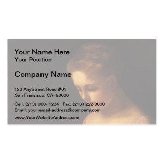 Mary Cassatt- a noiva nova Cartoes De Visitas
