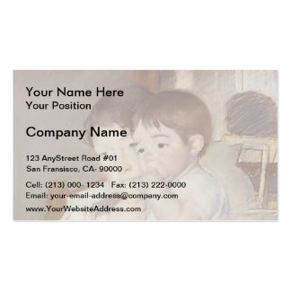 Mary Cassatt Bebê em seus braços do ` s da mãe Cartões De Visitas