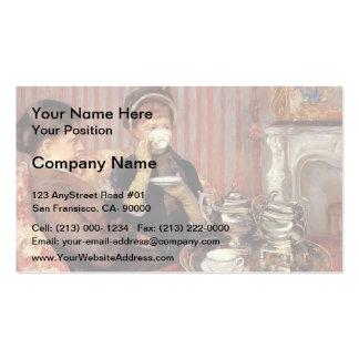 Mary Cassatt- o chá Cartoes De Visita