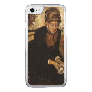 Mary Cassatt por Edgar Degas Capa iPhone 8/ 7 Carved
