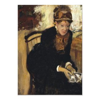 Mary Cassatt por Edgar Degas Convites Personalizados