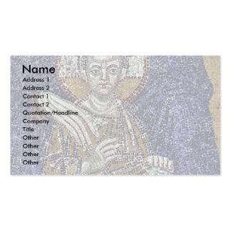 Mary como o santo padroeiro de Istambul Cartões De Visita