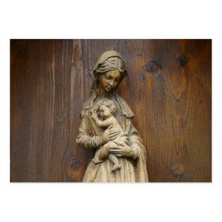 Mary e bebê Jesus Cartão De Visita Grande