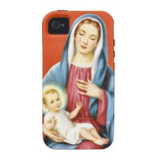 Mary e Jesus Capas Para iPhone 4/4S