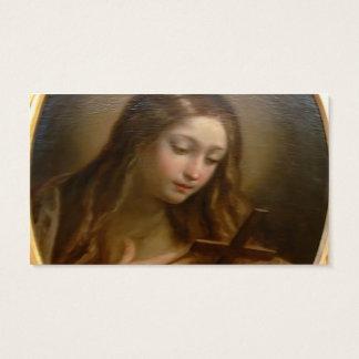 Mary Magadalen por Guido Reni Cartão De Visitas