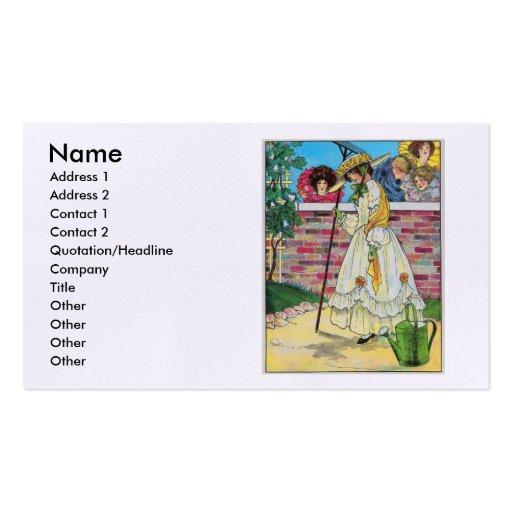 Mary, Mary, bastante contrariamente Modelo Cartões De Visitas