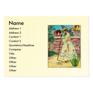Mary, Mary, bastante contrariamente Cartão De Visita Grande