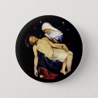 Mary que guardara Jesus Bóton Redondo 5.08cm