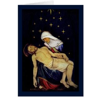 Mary que guardara Jesus Cartão Comemorativo
