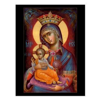 Mary - THEOTOKOS Cartão Postal