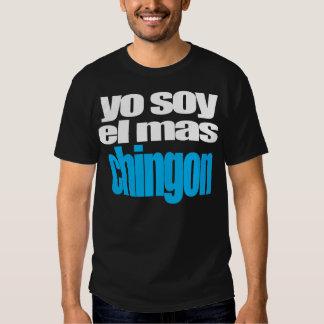 Mas Chingon do EL da soja de Yo T-shirts