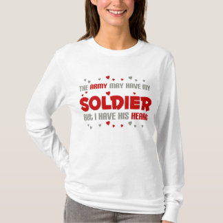 Mas eu tenho seu coração - exército camiseta
