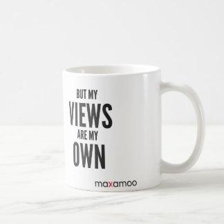 Mas minhas opiniões são minha própria caneca