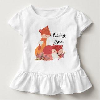 Mas primeiramente, raposas ideais camiseta infantil
