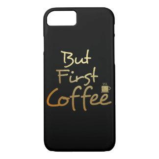 Mas primeiro café… Capas de iphone da folha de