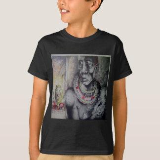 Masai Hakuna Matata do desenhista com t-shirt dos Camiseta
