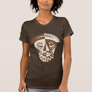 Máscara africana tshirts