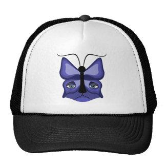Máscara azul do Meow Bonés